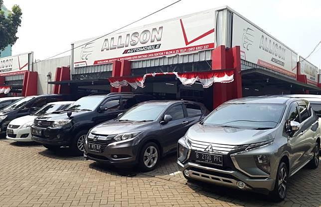 Ilustrasi showroom Allison Automobile Bintaro