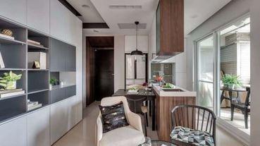 1坪奇蹟!小廚房發揮坪效爭取最大烹調空間