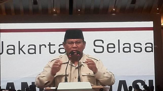 Prabowo Subianto. (Suara.com/Novian)