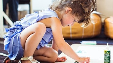 4歲小女童成為J.Crew童裝設計師!