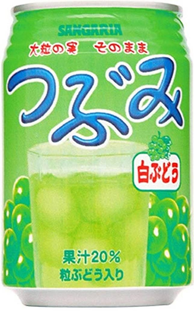 第16位的Tsubumi白葡萄有原粒葡萄果肉,讓人有又飲又食的雙重滋味。(互聯網)