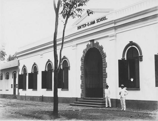 gedung stovia di Kwitang (sekarang museum kebangkitan nasional) tirto.id
