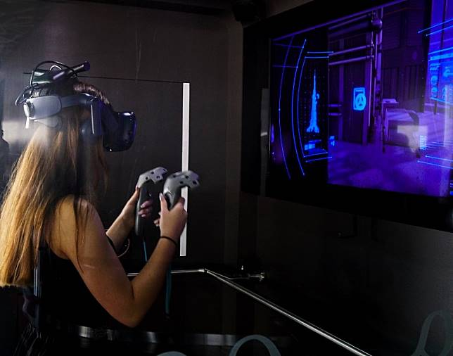 這裏還有中東地區首個VR主題樂園VR Park。(單身旅子攝)
