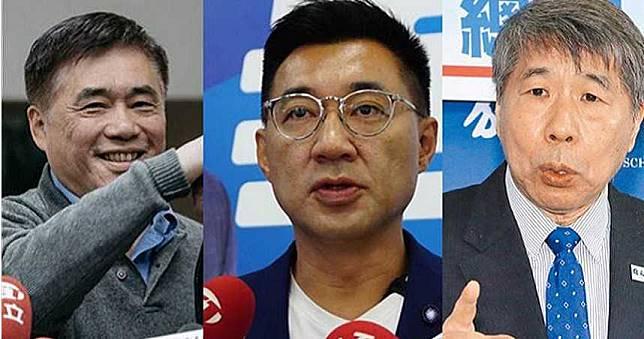 國民黨主席補選 郝龍斌江啟臣網路搶話題