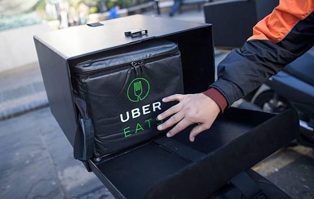 ▲美食外送平台 UberEats 。(示意圖/翻攝自 Getty)