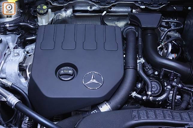 這具僅1.33L直四Turbo引擎,擁有低轉高扭表現。(方偉堅攝)