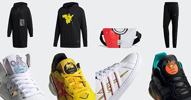 adidas寶可夢聯名鞋包服飾在台開賣,超潮皮卡丘穿上身