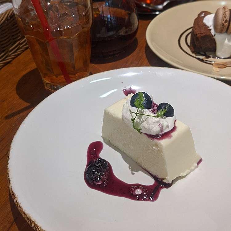 ユーザーが投稿したSetレアチーズケーキの写真 - 実際訪問したユーザーが直接撮影して投稿した歌舞伎町ピザPIZZA SALVATORE CUOMO サブナードの写真