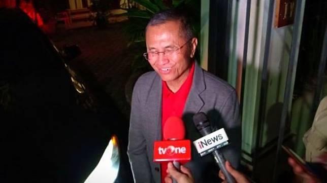 Mantan Menteri BUMN Dahlan Iskan. [Suara.com/Muhammad Yasir]