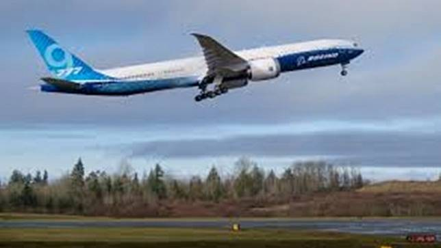 โบอิ้งทดสอบบินเครื่องบินรุ่น 777X ขนาด 2 เครื่องยนต์ที่ใหญ่ที่สุดในโลก
