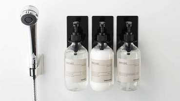 方便的浴室收納雜貨5選 簡潔有設計感讓人好心動!