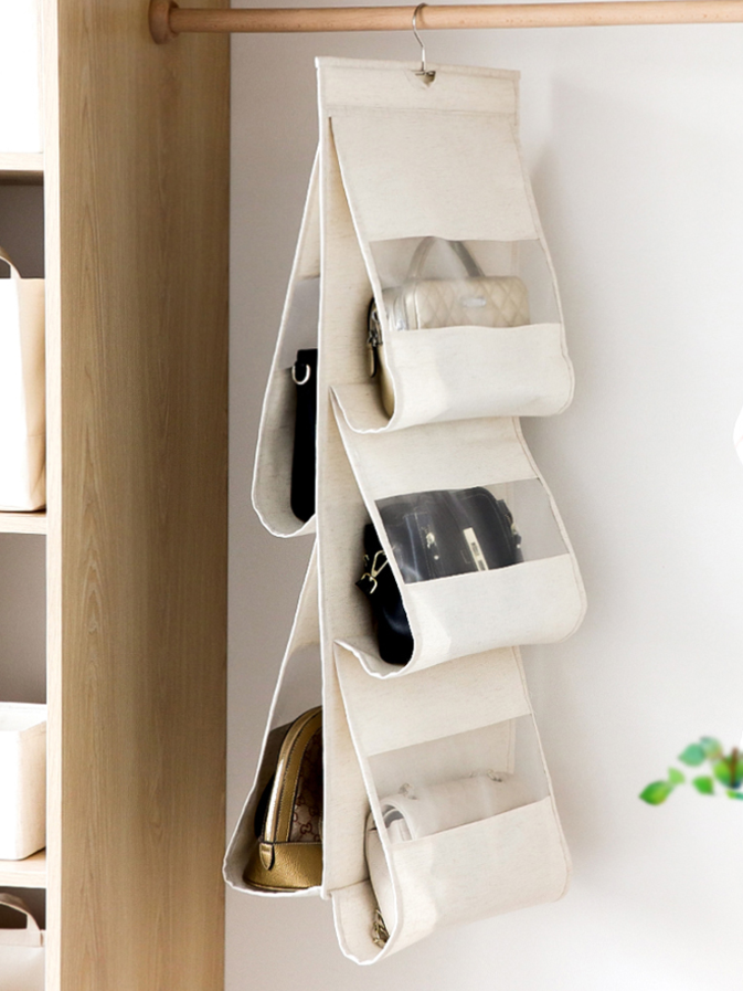 風格: 日式 尺寸: 38*93cm 流行元素: 純色 適用空間: 衣櫃/衣櫥 顔色分類: 本白色 適用對象: 皮包 款式: 立體式 適用人群: 大衆 是否手工: 是
