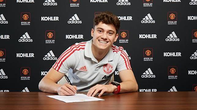 Manchester United Resmi Datangkan Daniel James