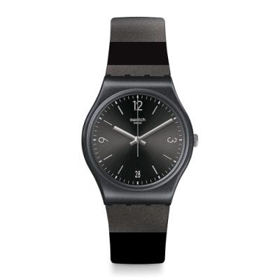 Swatch官方旗艦店瑞士製造 經典不敗熱銷款,最具識別性 多款色系設計,百搭各類場合造型 型號:GB430