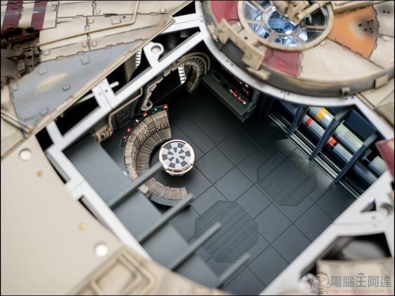千年鷹號 Millennium Falcon 1:1 模型開箱 - 07