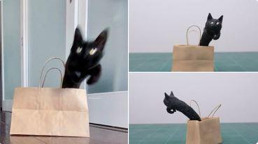 黏土作家 meetissai 做出一隻隻推特話題貓貓們