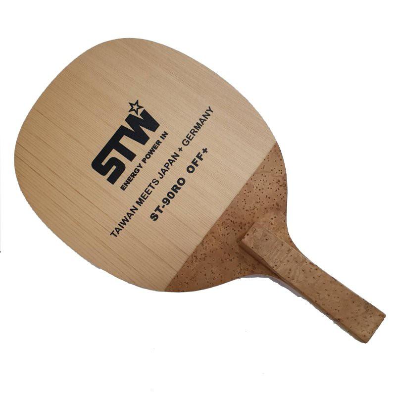 STARWOOD桌球拍W011 檜木單板 陰陽拍角型(可翻轉)(千里達桌球)