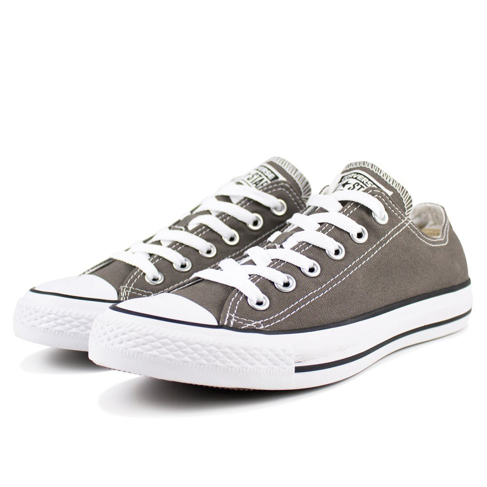 與輕時尚對話 沉重低調的設計 充滿年輕氣息的帆布鞋款 頗具造型之外 創造出多變的風格 讓您怎麼穿都好看!! 獨特的氣質,最佳輕時尚推薦款 #CONVERSE #男女款 #休閒鞋 #低筒 #帆布