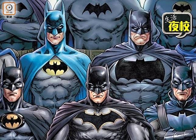 蝙蝠俠誕生於1939年,首次登場是在《偵探漫畫》第27期,踏入今年剛好是80周年。(互聯網)