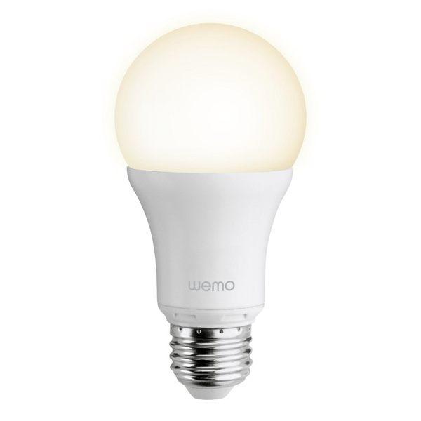 本商品僅含 1 顆 LED 燈泡(提醒您,另需購買 WeMo LINK 方能使用)