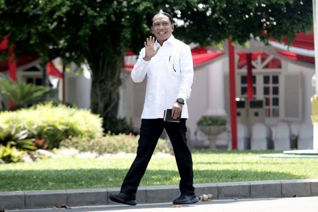 Politisi Golkar Zainuddin Amali Beri Sinyal Jabat Menpora