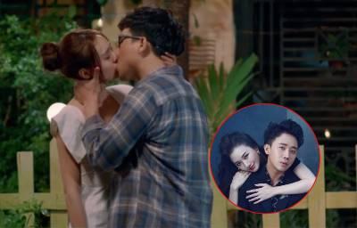 Trấn Thành hôn Ninh Dương Lan Ngọc đắm đuối thế này, liệu Hari Won có ghen?