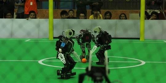 Robot Humanoid. ©istimewa