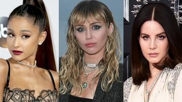 是真的!麥莉 X 亞莉安娜 X Lana Del Rey 官方宣傳新單 合作打造《霹靂嬌娃》主題曲!
