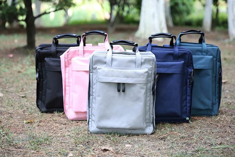 學院風大容量雙肩手提多用旅行行李包