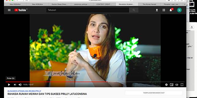 YouTube Luna Maya