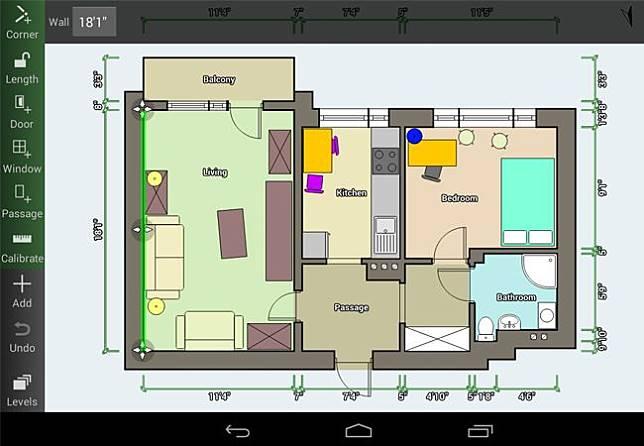 Contoh Denah Rumah Kantor  10 aplikasi desain rumah android dengan fitur lengkap dan gratis