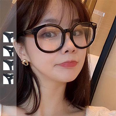抖音同款可愛粗框平光眼鏡【003908adj】