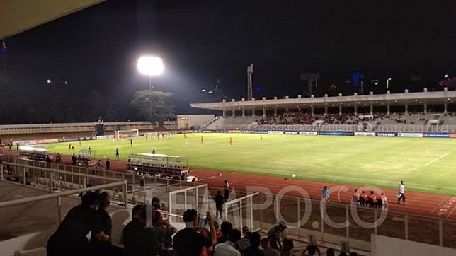 Pertandingan Kualifikasi Piala AFC U-16 2020 antara Timnas Indonesi U-16 versus Brunei Darussalam U-16 di Stadion Madya Gelora Bung Karno, Jumat, 20 September 2019. TEMPO/Irsyan Hasyim