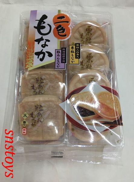天惠 2色最中 紅豆沙 栗子白豆沙 232公克
