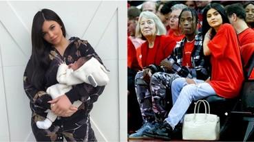 Kylie Jenner出街舉止奇怪 這個動作疑似她又整容了