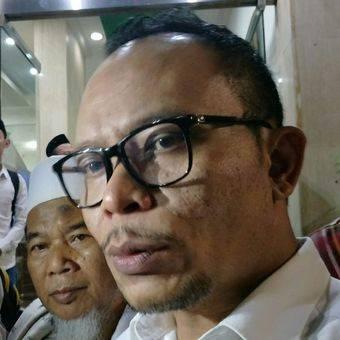 Menteri Ketenagakerjaan Hanif Dhakiri ketika ditemui di Kantor DPP PKB, Jakarta, Selasa malam (20/3/2018).(KOMPAS.com/ MOH NADLIR)   Artikel ini telah tayang di Kompas.com dengan judul
