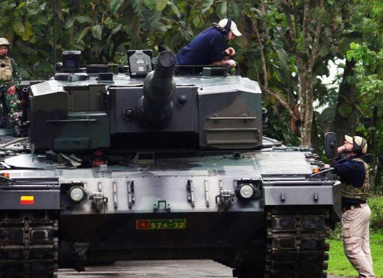 Tank milik TNI AD