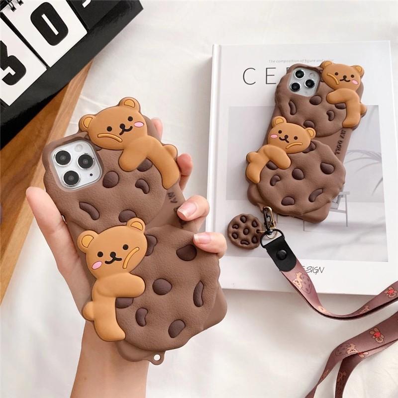 小熊曲奇手機殼