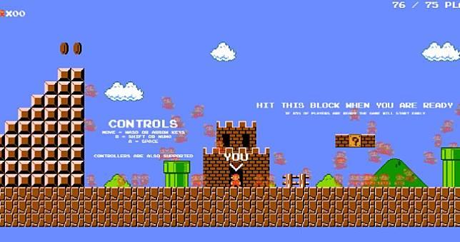 快來玩免費《Mario Royale》99位瑪莉歐同場大逃殺,趁遊戲還沒下架前 🤣