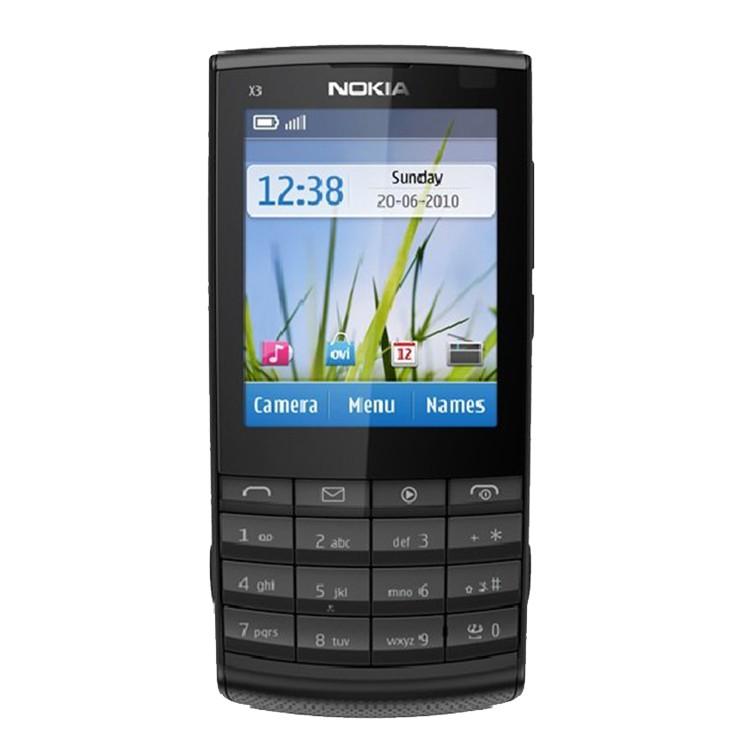 經典機種 全新庫存品 Nokia X3-02 現貨促銷 極致超薄,名片大小般的音樂手機,經典重現 !! 完美支援 中華、遠傳、台哥大、威寶、台灣之星 極致輕薄的直立手機,建議售價 $ 1980,本擋5