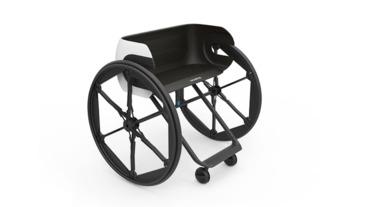 輪胎收到座墊下 完全符合登機尺寸的輪椅