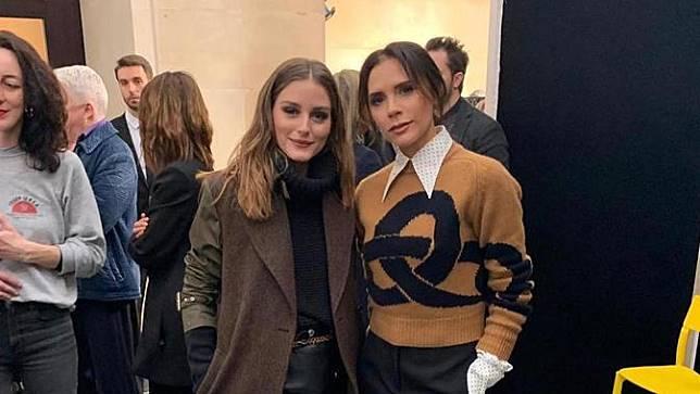 Victoria Beckham di London Fashion Week