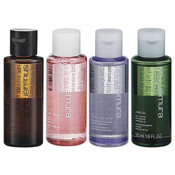 植村秀NO.1卸妝潔顏系列商品!n輕鬆卸除所有防水彩妝,卸妝後不殘留油感