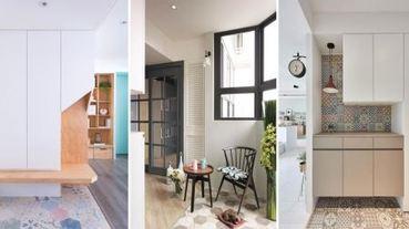 一打開大門,就讓你驚呼連連~超高顏質的 12 款「花磚玄關」設計!