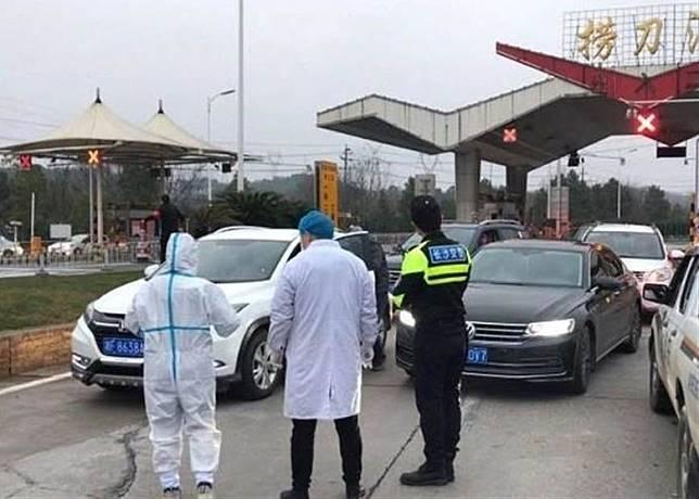 公安部宣布,全國多個公路檢疫點被撤銷。