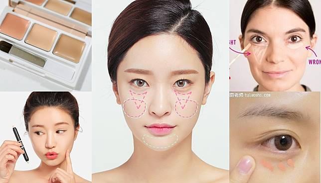 2 เทคนิคการใช้คอนซีลเลอร์จากสาวเกาหลี ช่วยกลบใต้ตาดำ พรางปากหนาๆ