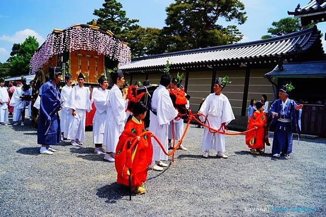 葵祭是京都三大祭典之一,今年於5月15日舉行。(互聯網)