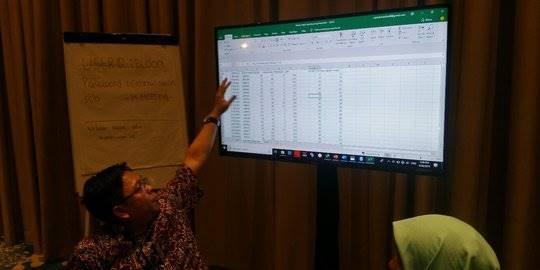 Lembaga Survei Buka Data Hasil Quick Count. ©Liputan6.com/nandaperdanaputra