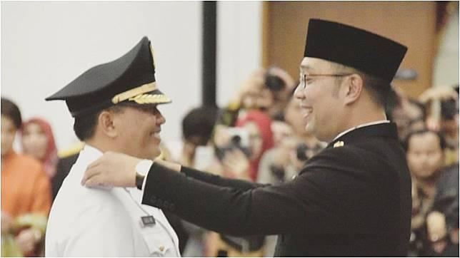 Ingat Kenangan saat Lantik Wali Kota Bandung Baru, Ridwan Kamil: Dulu Masih Oppa, Sekarang Ahjussi