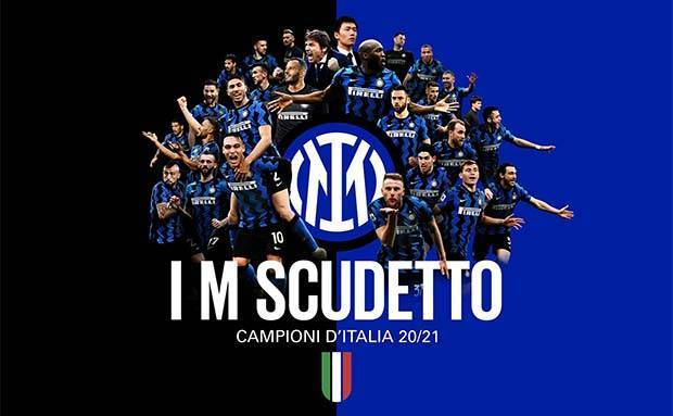 Sah! Inter Milan Scudetto Serie A 2020/2021 Usai Atalanta Diimbangi Sassuolo
